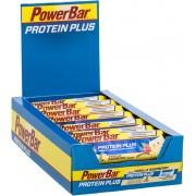 PowerBar Protein Plus 33% Sportvoeding met basisprijs Vanilla-Raspberry 10 x 90g geel/blauw 2018 Sportvoeding