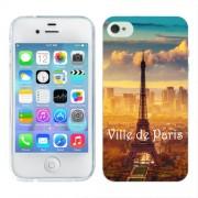 Husa iPhone 4S Silicon Gel Tpu Model Paris
