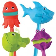 Educational Insights The Sea Squad Puppet-on-a-Stick (Box Set of 4)