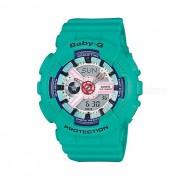 casio baby-g BA-110SN-3A reloj deportivo de tiempo mundial ledlight - verde