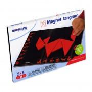 Tangram magnetic Miniland, 33 x 23 cm, 7 forme geometrice