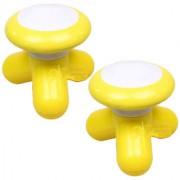 2 Pieces UFO-shape Mini Full Body Neck Scalp Massager Massaging Tool -08