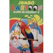 Jumbo Cartoon 2 - Carte de colorat