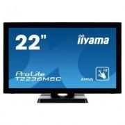 IIYAMA Monitor 21.5 T2236MSC-B2 10P DOTYKOWY HDMI/DVI/GŁOŚNIKI PCAP