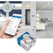 Pachet iluminat inteligent 3 intrerupatoare wireless + 3 controlere cu