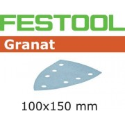 Festool STF GR DELTA Slippapper 7-hålat, 100-pack P150