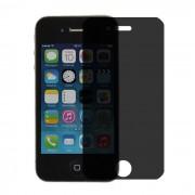 Folie protectie PRIVACY sticla securizata iPhone 4 / 4S