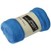 James & Nicholson Microvezel fleece deken kobalt