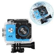 Sports SJ60 Waterbestendig 4K WiFi Action Camera - Blauw