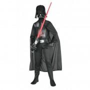 Costum pentru baieti Darth Vader Classic, varsta 5-6 ani+, marime M