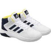 ADIDAS NEO CLOUDFOAM ILATION MID Sneakers For Men(White)