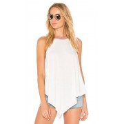 Free People Twin Peaks Tank in White. - size XS (also in L,M,S)
