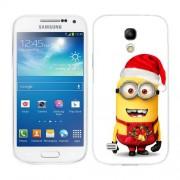 Husa Samsung Galaxy S4 Mini i9190 i9195 Silicon Gel Tpu Model Craciun Minion Christmas