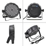 LED Par Stage Lights 60 x 1W LED Stage Lighting DMX-512 Stage Light for Disco Party Dj Club (Flat Par Light)