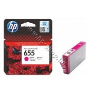 Мастило HP 655, Magenta, p/n CZ111AE - Оригинален HP консуматив - касета с мастило