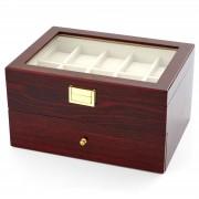 Warren Asher Holz Uhren Schaukasten Auf 2 Ebenen - 20 Uhren