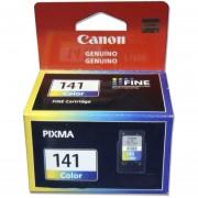 Cartucho De Tinta 141 Canon CL-141 Rendimiento Estandar 100% Nuevo Y Original De Color-Tricolor