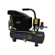 Stager - HM1010K - Compresor, cu ulei, 750 W, 6 l, 126 l/min, 8 bar, monofazat