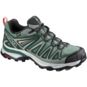 Salomon X Ultra 3 Prime GTX Hiking & Trekking Shoes For Men(Green)