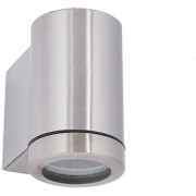 Fos Lighting Stainless Steel Outdoor Cylinder Wall Washer