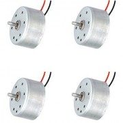 4 Pics Flat Cylinder DC Motor RC Toys High Speed (Heavy Load) Helicopter Drones