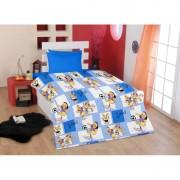 Бебешки спален комплект Ранфорс FOOTBALL - 100% Памук