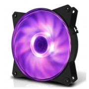 Ventilator Cooler Master MasterFan MF121L, LED RGB (Negru)