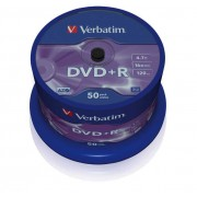 Verbatim DVD+R 16X Spind50 43550