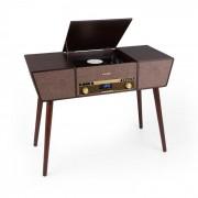 Auna Belle Epoque 1912, gramofon retro, CD, BT, USB, DAB+/FM, maro (TTS6-T402 DAB)