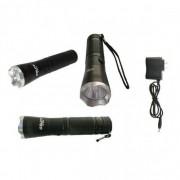 Lanterna reincarcabila metalica cu Super LED 1W Gdlite GD8100