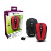Мишка Canyon CNR-MSOW06R, червена, 1600 dpi, USB