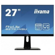 "IIYAMA 27"" LCD iiyama B2791HSU-B1 - 1ms,300cd/m2,1000:1,FHD,VGA,DP,HDMI,USB,r"