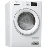 Uscator de rufe Whirlpool FT D 8X3WS EU, Cu pompa de caldura, 8 kg, 6th Sense, FreshCare+, Clasa A+++, Alb