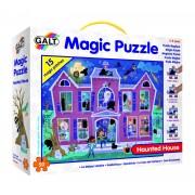 Puzzle pentru copii Galt Casa bantuita, 50 piese, 4-8 ani