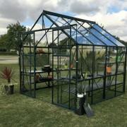 Vitavia Phoenix 6700 8 x 8 Greenhouse - Green
