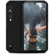 """Blackview BV9900 Pro 4G Teléfonos resistentes desbloqueados, 48 MP+16 MP+5 MP+2 MP+cámara de imagen térmica IP68 Rugged Smartphone, 8GB+128 GB Octa-Core 5.8"""" FHD+ Android 9.0 4380mAh Batería resistente teléfono celular -Negro"""