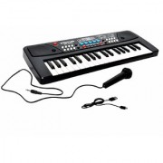 Vini Toys Piano (37 Keys) with DC output mobile charging(USB included)and microphone