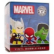 "Deadpool Holding Weapons: ~2.3"" Marvel x Funko Mystery Minis Vinyl Mini-Bobble Head Figure Series [V"