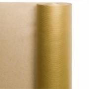 Rouleau de 100 m de papier cadeau OR 70 cm - Vendu