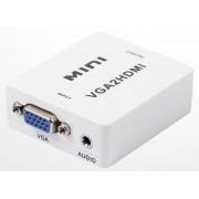Konwerter VGA+audio do HDMI SPVA-H01