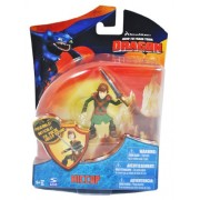 """Dreamworks Movie Series """"How To Train Your Dragon"""" Exclusive 2 1/2 Inch Tall Figure Action Figure Hiccup With Sword"""