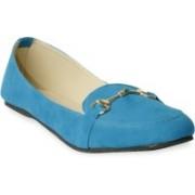 TEN Decent Royal Blue Loafers For Women(Blue)