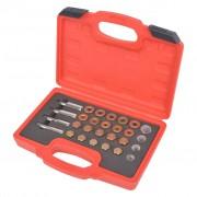 vidaXL Oil Drain Plug Repair Kit 64 pcs Set M13 M15 M17 M20