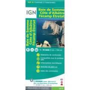 Fietskaart - Wandelkaart 36 Normandie: Baie De Somme - Cote d'Albatre - Fecamp - Etretat | IGN