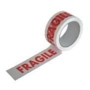 """Socepi Nastro autoadesivo in PPL con la scritta """"Fragile"""" - confezione 6 pz."""