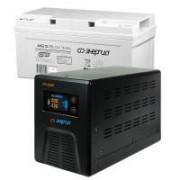 Комплект ИБП Инвертор Энергия ПН-1000 + Аккумулятор 75 АЧ