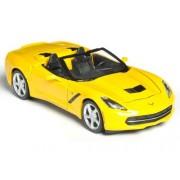 Maisto 2014 Chevrolet Corvette Stingray Convertible, Yellow - 31501 1/24 Scale diecast Model car