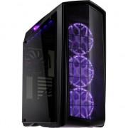 Carcasa pentru pc de jocuri , Silverstone , SST/PM01C/RGB Midi Tower ATX , negru