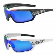 Salice 016 Italian Edition RWP Polarised Sunglasses - Black/Blue
