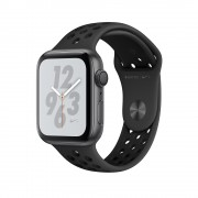 Apple Watch Nike+ Series 4, 44mm Space Gray Aluminum Case with Anthracite/Black Nike Sport Band, GPS + Cellular - умен часовник от Apple